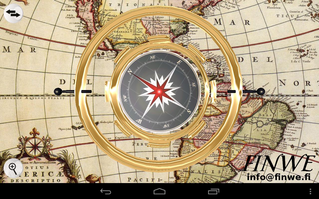 3D Gyro Compass - screenshot