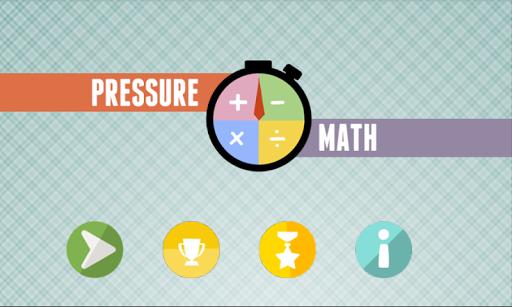 Pressure Math