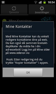 Mine Kontakter - screenshot thumbnail