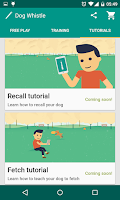 Screenshot of Dog Whistle, Free Dog Trainer!