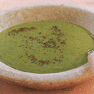 Cumin Pea Soup.