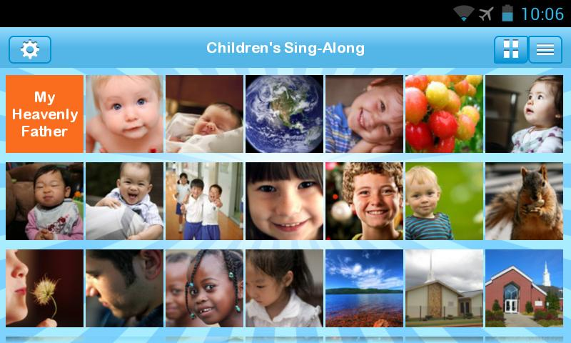 LDS Children's Sing-Along- screenshot