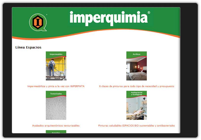 Imperquimia movil- screenshot