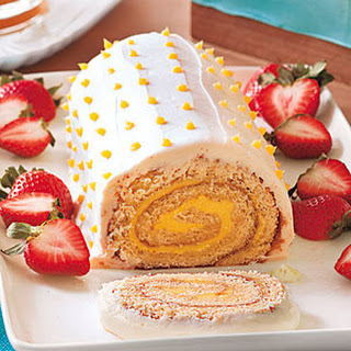 Lemon Roulade.
