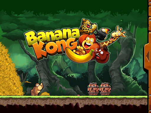 Banana Kong v1.8 [Mod Money]