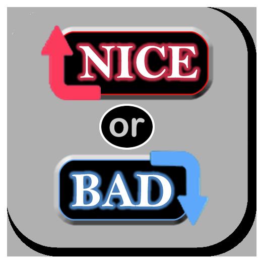 nice or bad app app. Black Bedroom Furniture Sets. Home Design Ideas
