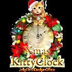 かわいい子猫のクリスマス時計ウィジェット icon