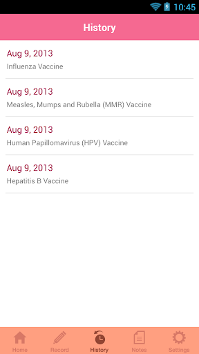 【免費醫療App】Women's Health Immunization-APP點子