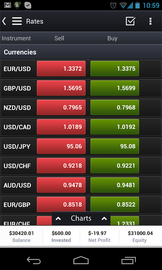 eToro Mobile Trading & Stocks - screenshot