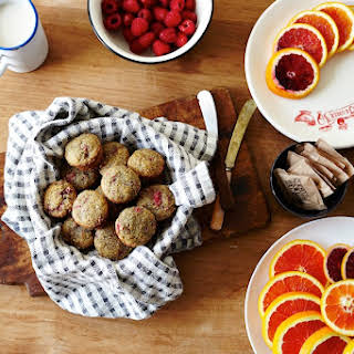 Raspberry Almond Muffins.