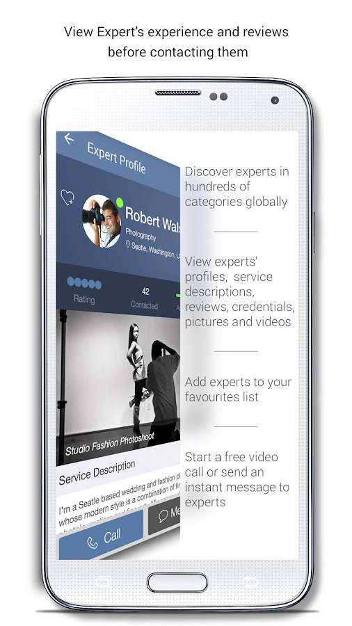 OnCall - Find Experts- screenshot