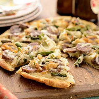 Ultra-Thin Pizza Crust.