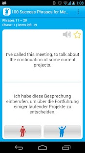 100 Meetings Success Phrases- screenshot thumbnail