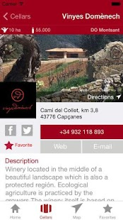 Enoguia - Wine Guide Cellars- screenshot thumbnail