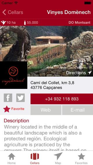 Enoguia - Wine Guide Cellars- screenshot