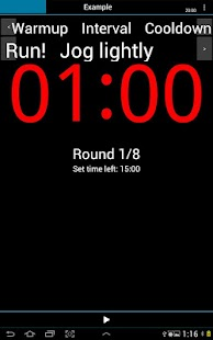 A HIIT Interval Timer - screenshot thumbnail