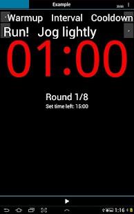 A HIIT Interval Timer - screenshot thumbnail