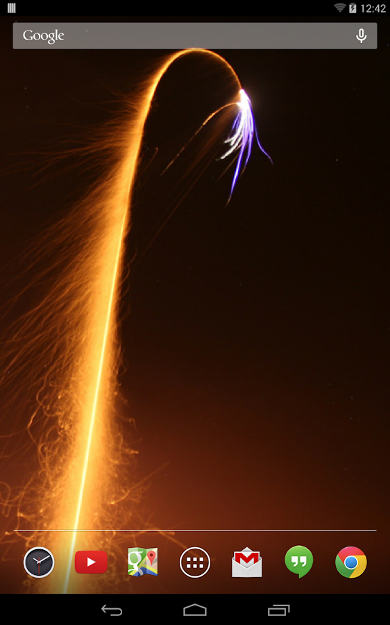Fireworks Live Wallpaper- screenshot