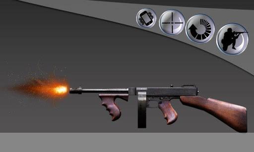 マフィアのギャング銃