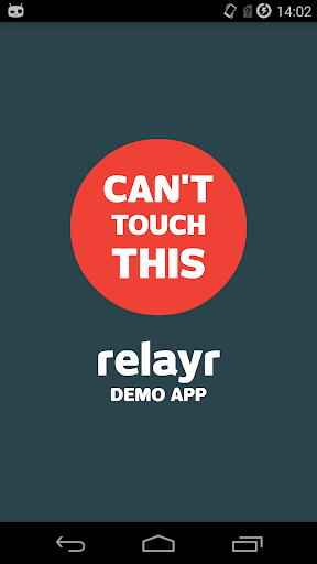 relayr Can'tTouchThis