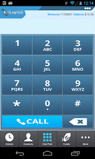 1LegCall - VoIP Dialer - screenshot thumbnail