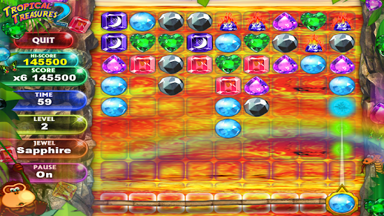 Tropical Treasure Gems 2 PAID- screenshot thumbnail