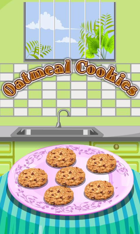 Oatmeal Cookies Cooking - screenshot