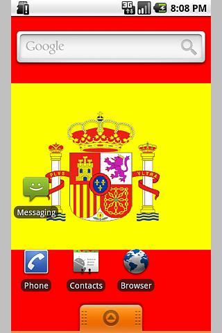 Bandera de España- screenshot