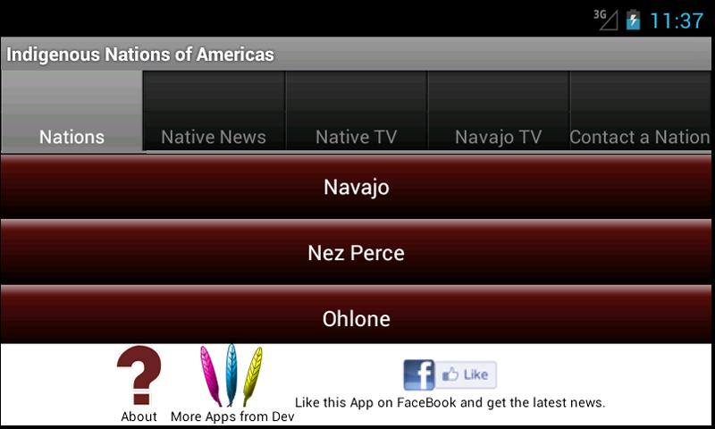 Indigenous Nations of Americas- screenshot
