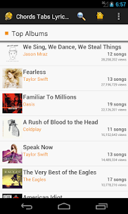 Chords Tabs Lyrics Pro- screenshot thumbnail