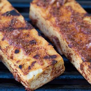 Lemon Achiote Grilled Tofu.