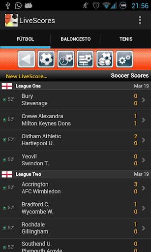 Sport LiveScore