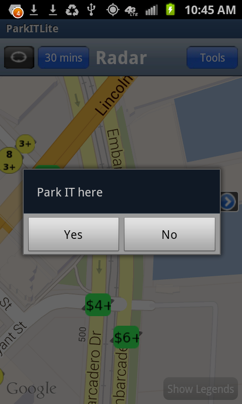 Park.IT - SF Parking EZ - screenshot