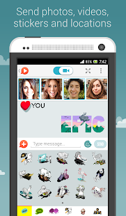 OkHello: Free Group Video Chat - screenshot thumbnail