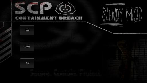 Slendy: SCP MOD