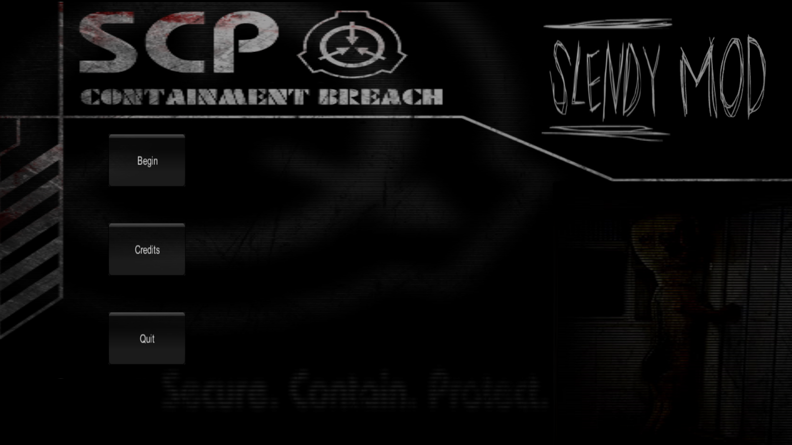 Slendy: SCP MOD- screenshot
