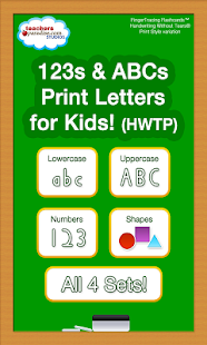123 ABC Kids Handwriting HWTP- screenshot thumbnail