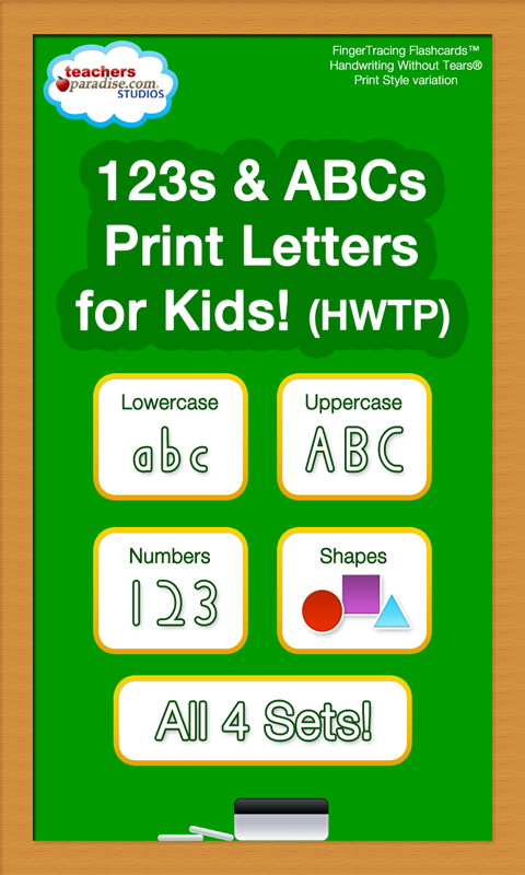 123 ABC Kids Handwriting HWTP- screenshot