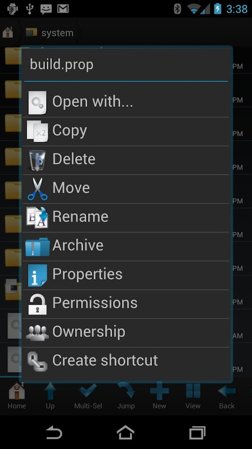 Root Browser (File Manager) Screenshot 1