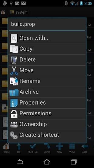 Root Browser (File Manager)- screenshot thumbnail