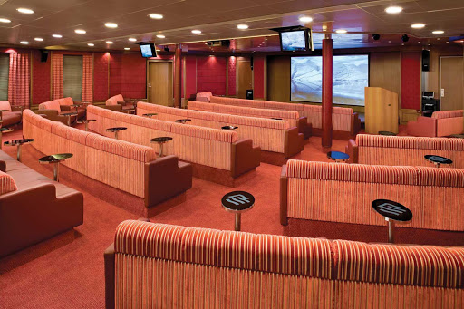 Silver_Explorer_Theatre_Room - The Theatre Room on Silver Explorer is a great place to catch a talk or presentation about local wildlife or the area.
