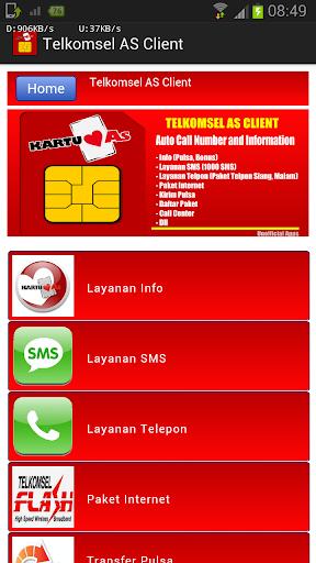 Telkomsel AS Client