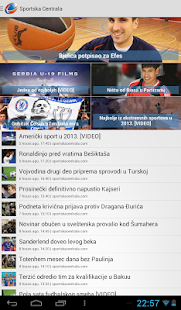 Sportska centrala- screenshot thumbnail
