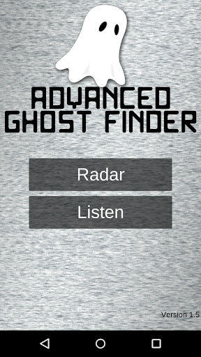 Advanced Ghost Finder