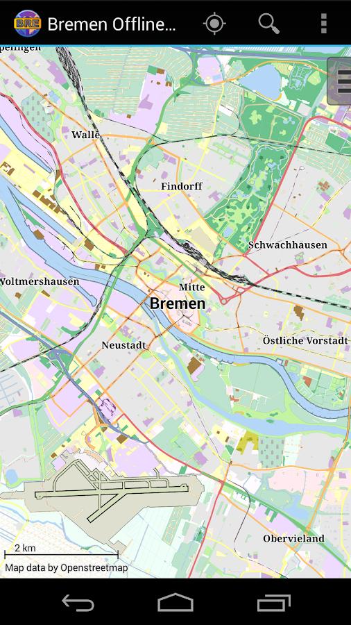 Google Maps Bremen : bremen offline city map android apps on google play ~ Watch28wear.com Haus und Dekorationen