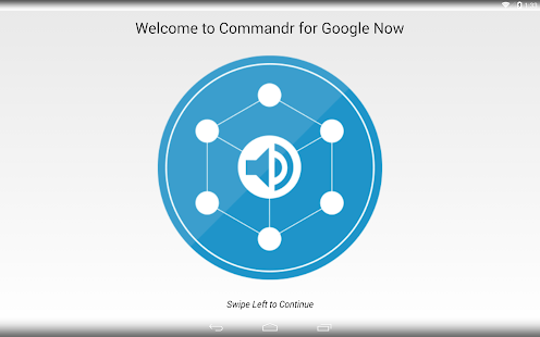 Commandr for Google Now - screenshot thumbnail