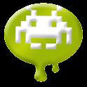Funny UFO logo