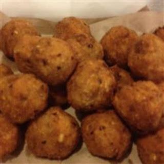 Buffalo Chicken Dipping Balls.