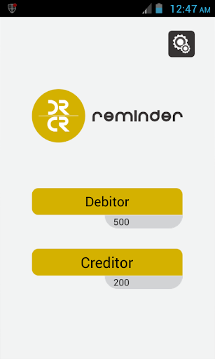 Debit and Credit Reminder