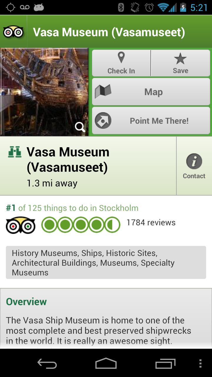 Stockholm City Guide screenshot #3